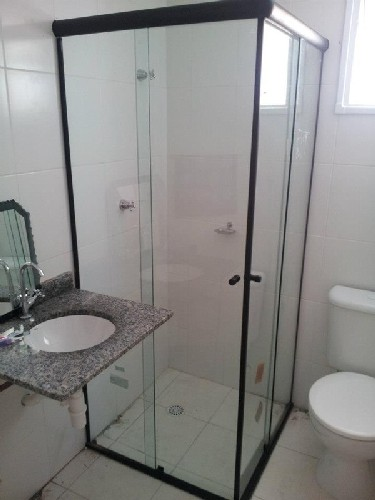 Box De Banheiro De Canto Vidraçaria Ideal