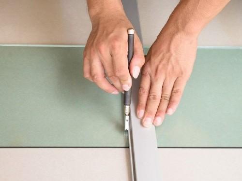 cortar vidro temperado