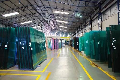 fábrica de vidros