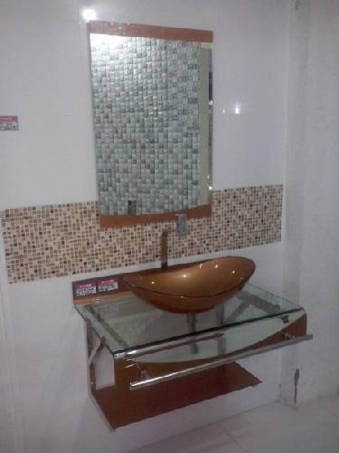 vidro para banheiro